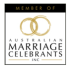 Member of Australian Marriage Celebrants Inc.